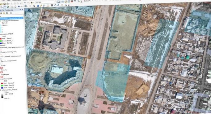 Автоматизированная информационная система «дежурный план города астаны»