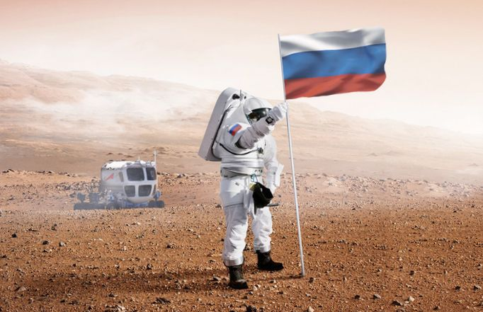 Больше половины россиян считают свою страну космической державой