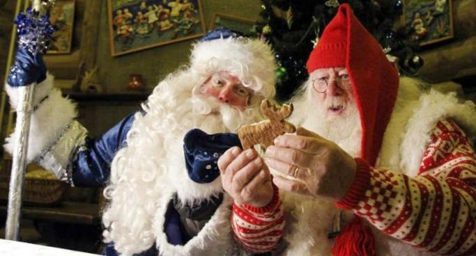 Дед мороз не существует, а вот существует ли санта клаус?