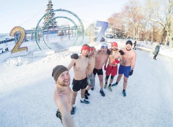 День моржа может стать официальным праздником ненецкого округа