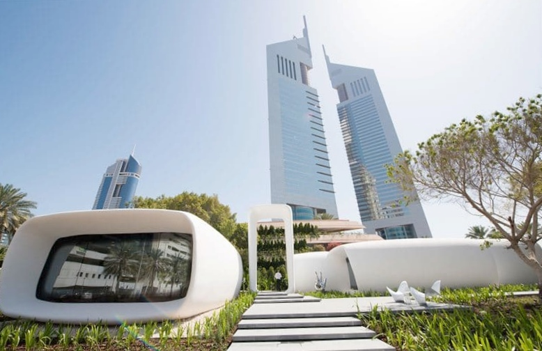 Дубай представляет первое в мире здание, полностью напечатанное при помощи 3d-принтера