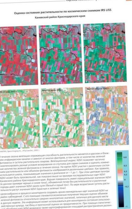 Геоаналитика.агро: данные дистанционного зондирования земли, как источник агрометеорологической информации