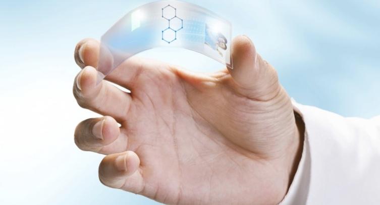 Гибкиая прозрачная электроника на основе графена