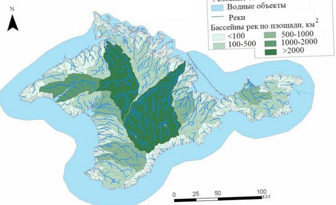 Интегрированное управление водными ресурсами бассейна реки салгир