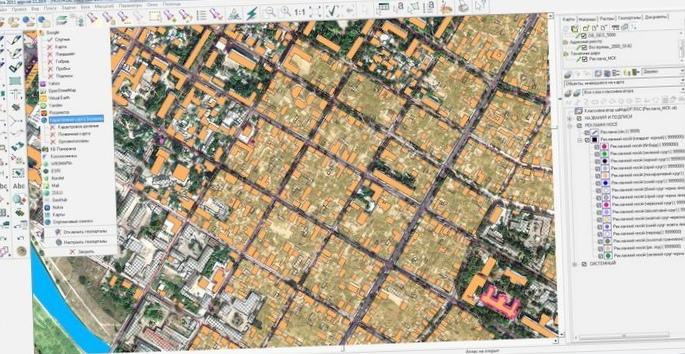 Использование гис-технологий в создании базы данных по состоянию городских почв