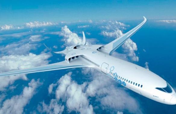 Электрический авиалайнер e-thrust