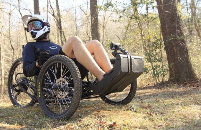 Электрический трицикл horizon trike - потрясающая мобильность для обездвиженных людей