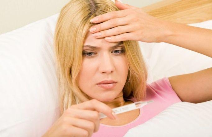 Как быстро сбить температуру во время простуды