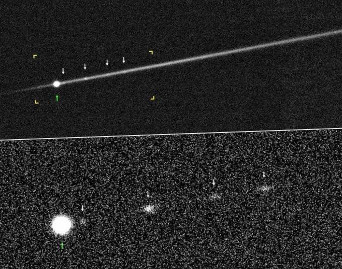 Кеплер сфотографировал сотни потенциально опасных астероидов