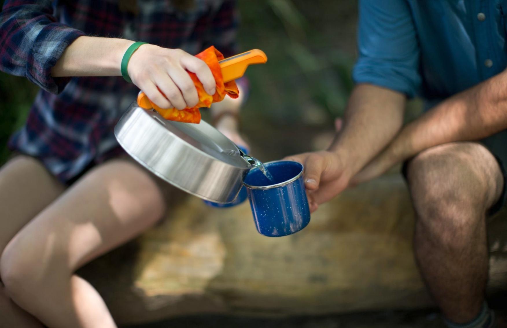 Kettlecharge - электричество от кипячения воды