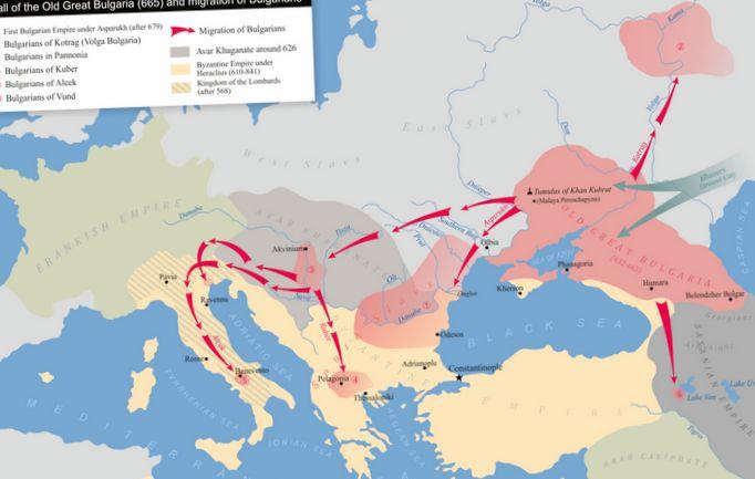 Киммерийско-боспорское царство крыма и происхождение болгар