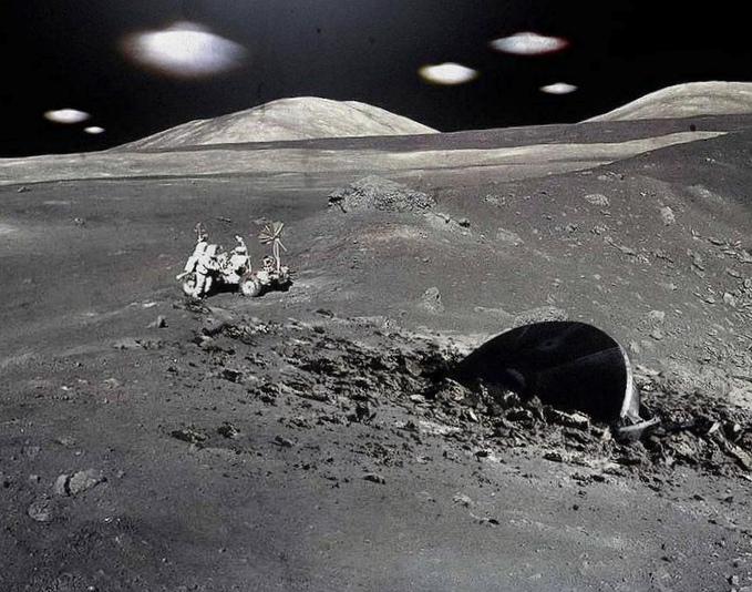 Китайский луноход чанъэ-3 привлек внимание инопланетян