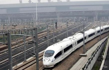 Китайский поезд ставит рекорд скорости для коммерческих линий