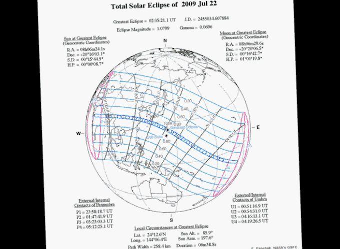 Конец света на3 минуты: солнечное затмение 2008