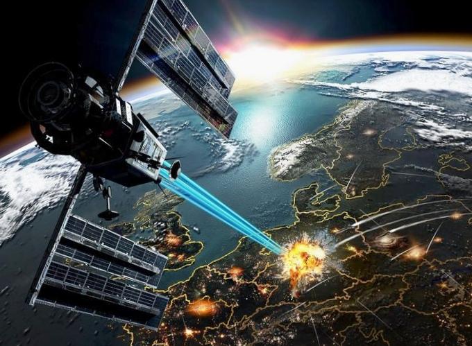 Космические истребители: убийца спутников