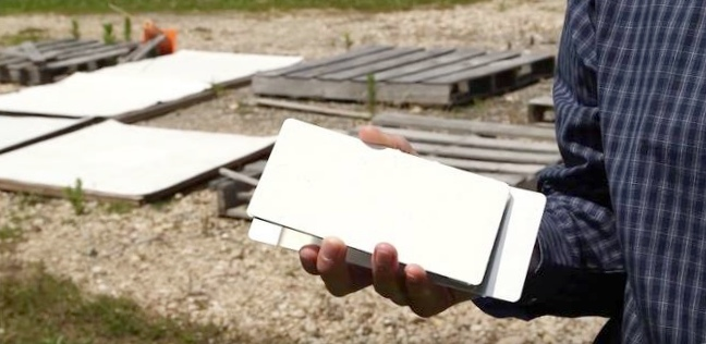 Краска на основе стекла отражает солнечный свет, поддерживая температуру объектов