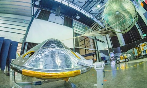 Модуль скиапарелли разбился при посадке на марс