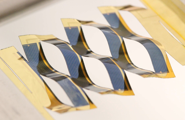 На основе оригами созданы солнечные батареи, следящие за солнцем