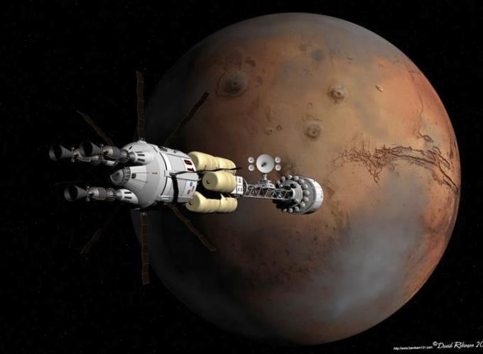 Намарс заводой: космическая жажда