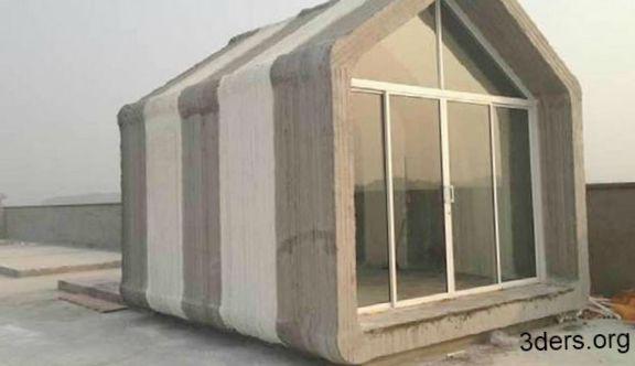 Напечатанный дом. шанхай
