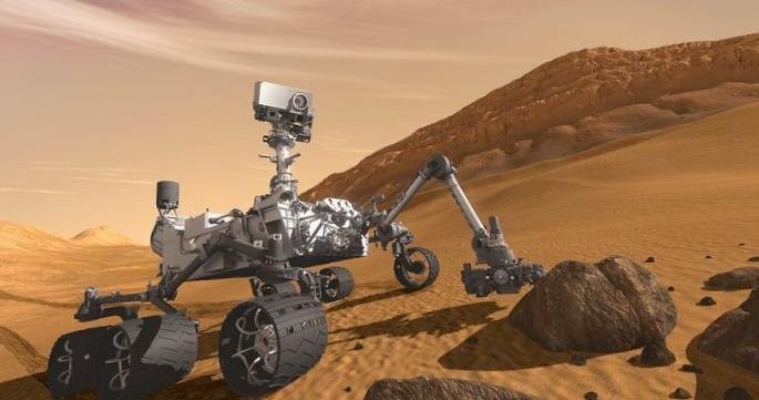 Наса отправит на марс буровую установку
