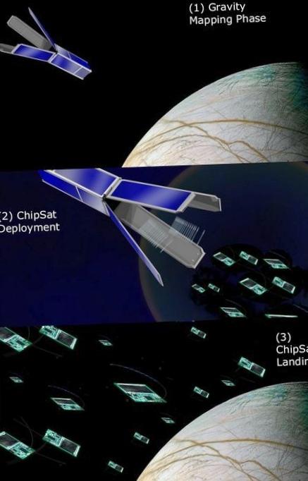 Nasa показало прототип аппарата, который будет искать жизнь на европе