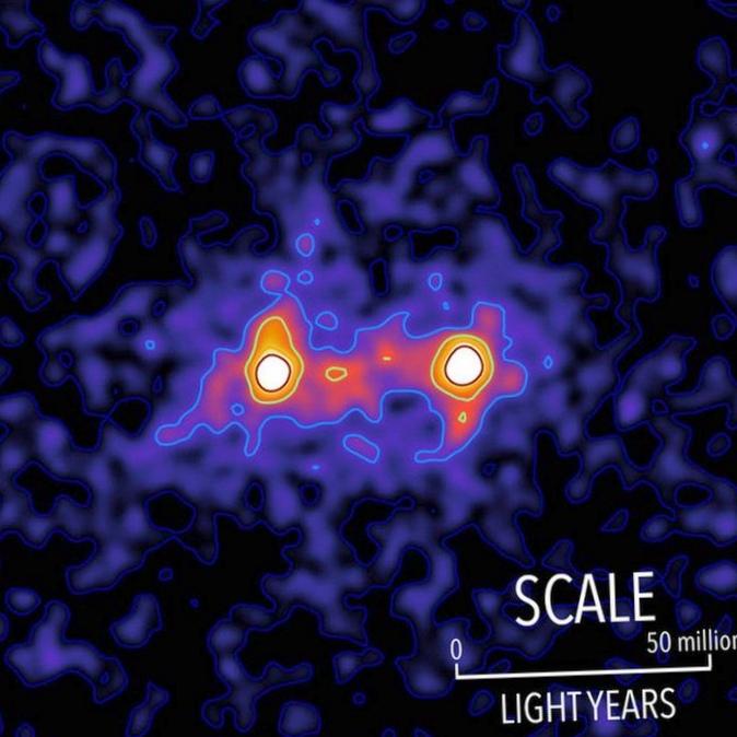 Nasa расширяет миссию ферми для поиска темной материи
