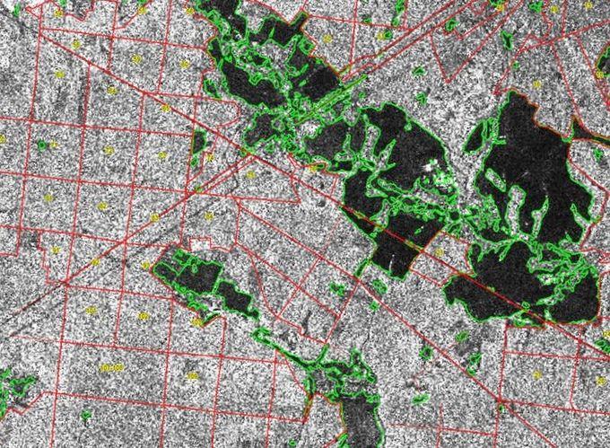 Обзор современных радарных данных дзз