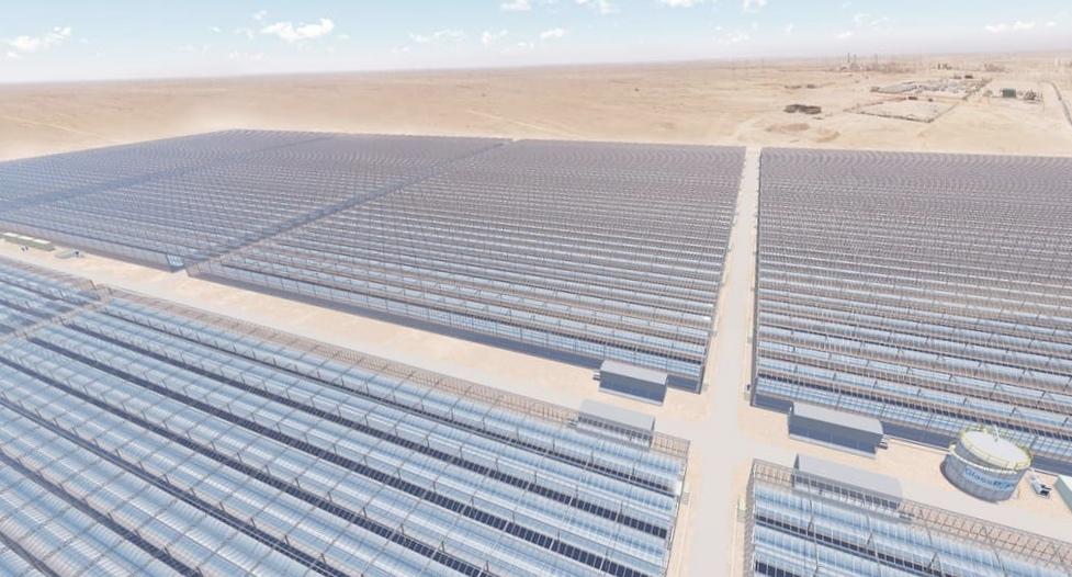 Одна из крупнейших солнечных электростанций будет производить нефть