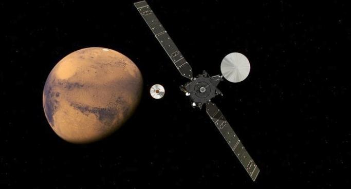 Орбитальный модуль экзомарса проведет первые исследования 20-28 ноября
