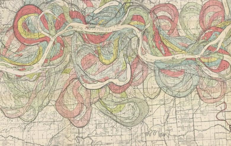 Первая масштабная геологическая карта