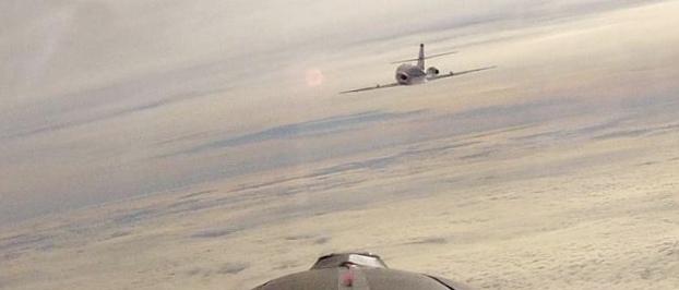 Первый полет на чистом биотопливе