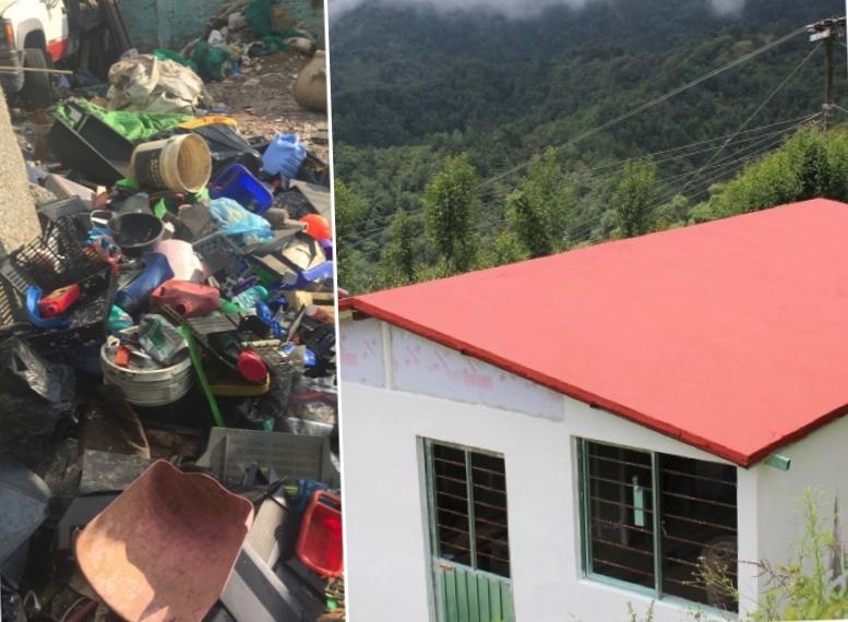 Пластиковые отходы в доступное жилье