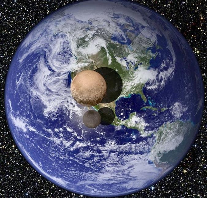 Плутон продолжает удивлять. фото в новом качестве.