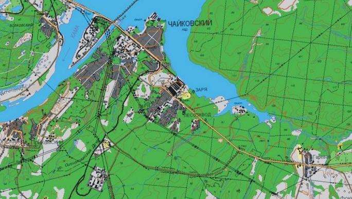 Построение полигона дзз для крупномасштабного топографического картографирования на украине