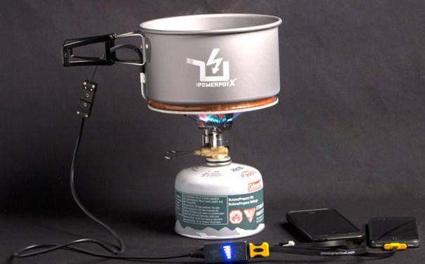 Powerpot - приготовление пищи и зарядка смартфона в одной кастрюле
