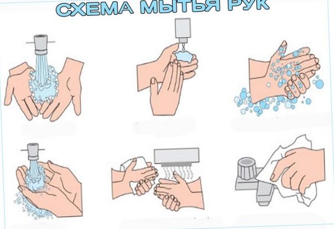 Предметы после которых нужно мыть руки с мылом