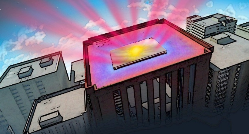 Прозрачное покрытие сохраняет температуру солнечных панелей в течение дня, обеспечивая их эффективность