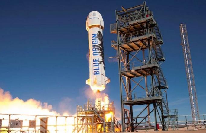 Ракета компании blue origin потерпела крушение