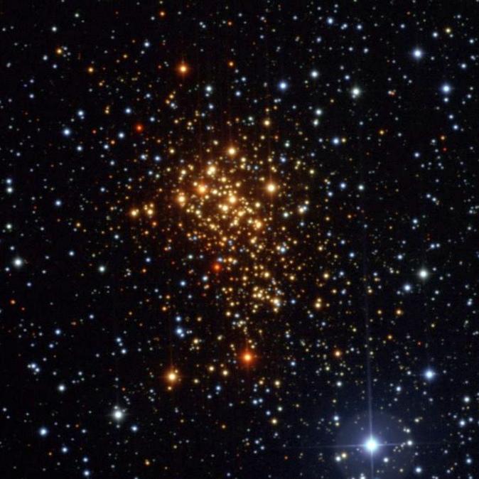 Рядом с землей найдена звезда-младенец