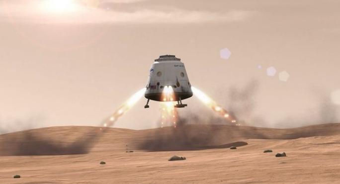 Роскосмос: люди смогут полететь на марс после 2050 года