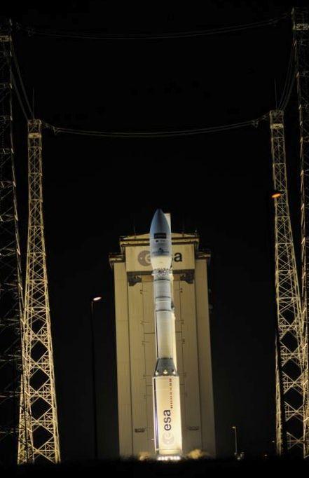 С космодрома куру осуществлен успешный пуск рн vega c турецким разведывательным спутником gokturk-1