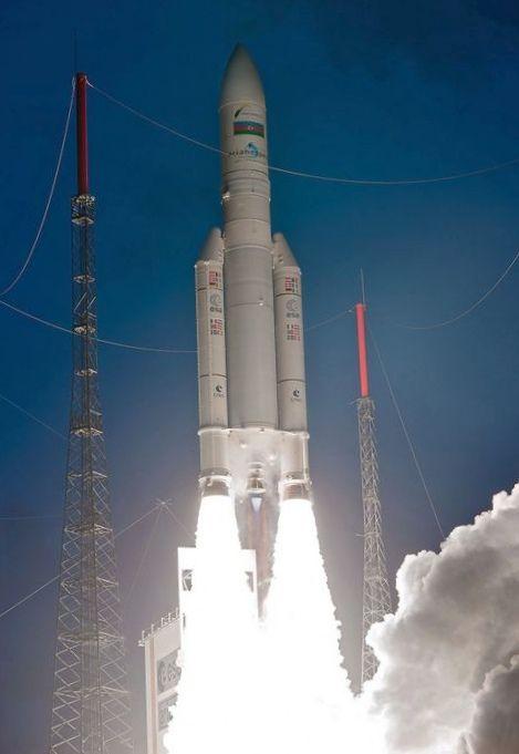С космодрома во французской гвиане запустят греческий спутник