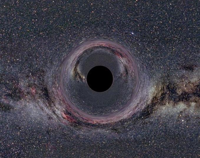Самая тяжелая черная дыра живет на заднем дворе млечного пути