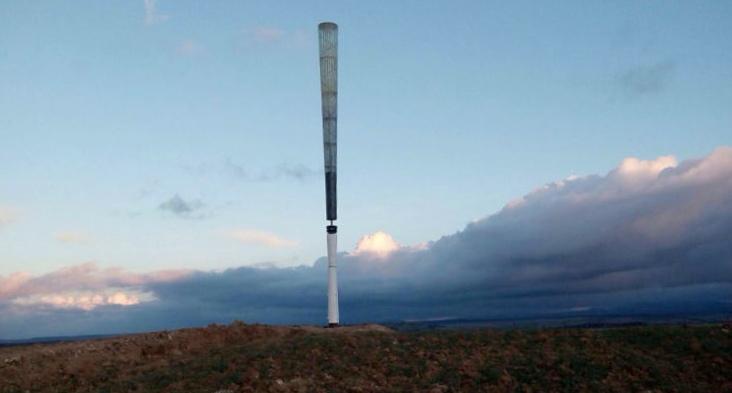 Самую тихую ветряную турбину можно установить прямо во дворе