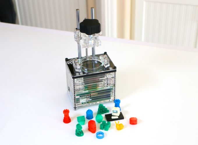 Самый маленький и дешевый 3d-принтер в мире
