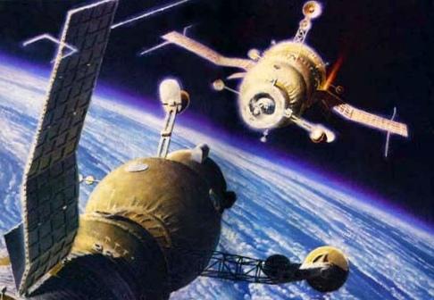 Советский космос в работах советских художников