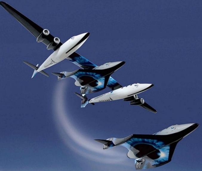 Spaceshiptwo приступит к новым испытаниям через месяц