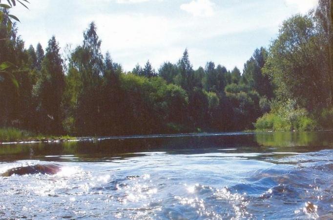 Спешит железная река