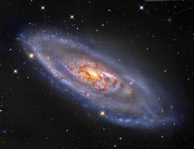 Спиральная структура ранней галактики озадачила астрономов